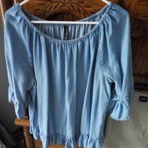 Denim Massini 2x blouse